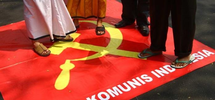 Menolak PKI di Indonesia. Foto via tribun