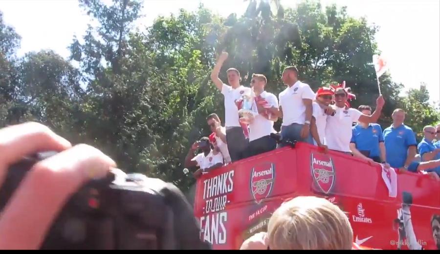 Parade Arsenal. Foto Nusantaranews