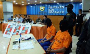 Pelaku penyelundup kokain dalam spidol. Foto dok. Kantor Bea Cukai Jakarta