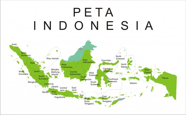 Peta Indonesia/Ilustrasi NUSANTARANEWS.CO/Via Sejarah Indonesia