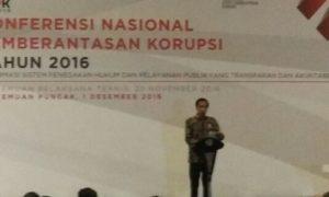 Presiden Jokowi saat resmikan KNPP 2016. Foto Fadhilah/Nusantaranews