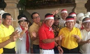 Setya Novanto saat Hadiri Parade Kita Indonesia. Foto via @mega_captain