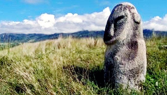 Pesona situs megalitikum Lembah Bada Sulawesi Tengah.
