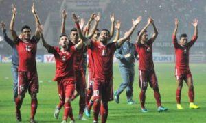 Sepakbola Indonesia: Skuad Timnas Garuda Sapa Suporter. Foto via viva/Nusantaranews