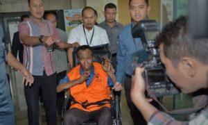 Tersangka kasus dugaan korupsi proyek pengadaan Kartu Tanda Penduduk (KTP) berbasis elektronik atau e-KTP, Sugiharto/Foto : Dok. Antara