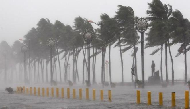 badai dan cuaca ekstrim. Foto Nusantaranews (Istimewa)
