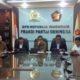 Ketua Fraksi Gerindra, Ahmad Muzani, beserta Anggota DPR RI dari Fraksi Partai Gerindra/Foto Deni / NUSANTARAnews