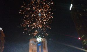 Pesta Kembang Api di Bundaran HI Meriahkan Tahun Baru di Indonesia Barat/Foto Fadilah/NUSANTARAnews
