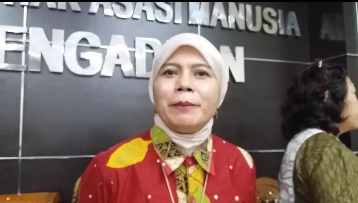 Wakil Ketua Komnas HAM Roy Chatul Aswidah saat konferensi Pers, di Kantornya, Jakarta Pusat, Selasa, (17/1/2017)/Foto Fadilah/NUSANTARAnews