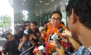 Basuki Hariman di Gedung KPK, Jakarta Selatan, Jumat, (27/1/2017)/Foto Fadilah/NUSANTARAnews