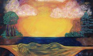 "Lukisan ""Dreaming Goddess"" By Eric Singleton/Foto: Dok. pinterest.com"