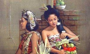 Wanita dalam lukisan realisme Awins/Foto: Pinterest