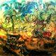 "Lukisan karya Affandi, ""Andong Jogja"", 110cm X 95cm, 1963/Foto: Blog Senirupa"
