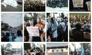 Aksi Bela Rakyat 121/Ilustrasi Foto: Istimewa (BEM SI)