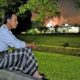 Presiden Joko Widodo di Malam Tahun Baru/Foto via Twitter resmi Joko Widodo (@jokowi )