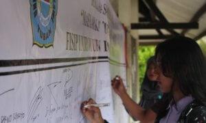 Deklarasi Masyarakat Tuban Anti Hoax. Foto Dok pribadi