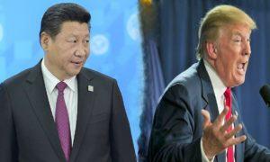 Donald Trump dan Xi Jinping