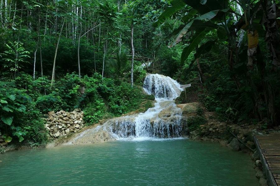 Ekowisata Taman Sungai Mudal Kulonprogo. Foto IST