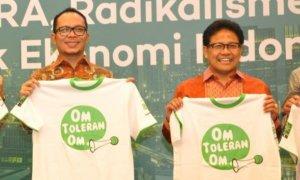 Hanif Dhakiri dan Muhaimin Iskandar. Foto via @KemnakerRI