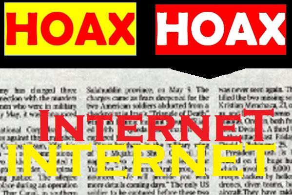 Hoax/Ilustrasi: Nusantaranews