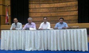 Menhub Budi Karya Meminta Maaf Atas Terbakarnya Kapal Zahro Express/Foto: Dok. Tempo