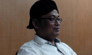Ketua Forum Pemuda Indonesia (FPI) Jatim, Muhadi Al-Anshori/Foto: Imam Hambali