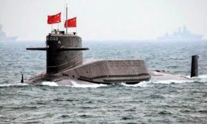 Kapal Selam Nuklir China, Type 094 Jin Class/Foto: Militer Hankam