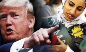 Kebijakan Trump bagi 7 Negara Muslim. Foto Ilustrasi/countercurrentnews