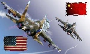 Kekuatan Militer AS vs Cina. Foto Ilustrasi/IST