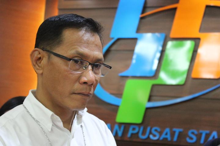 Kepala BPS Suhariyanto/Foto Andika/NUSANTARAnews