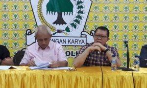Ketua Umum DPD MKGR Jatim Gatot Sudjito. Foto Tri Wahyudi/Nusantaranews