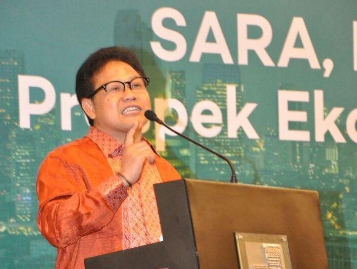 Ketua Umum DPP PKB Muhaimin Iskandar. Foto via @Kemnakerri