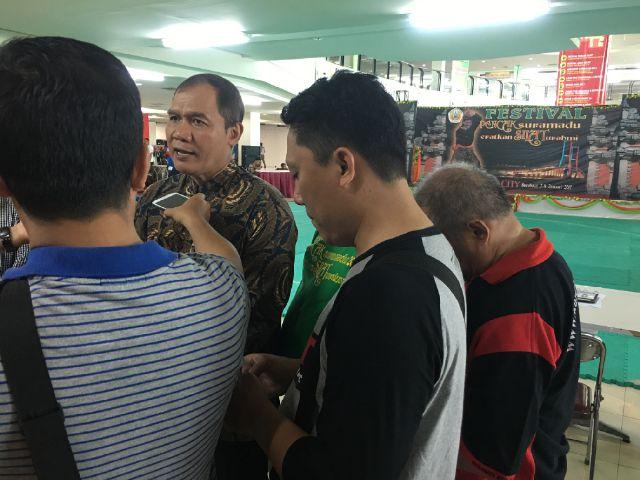 Ketua Umum IPSI Surabaya, Bambang Haryo. Foto Tri Wahyudi/Nusantaranews