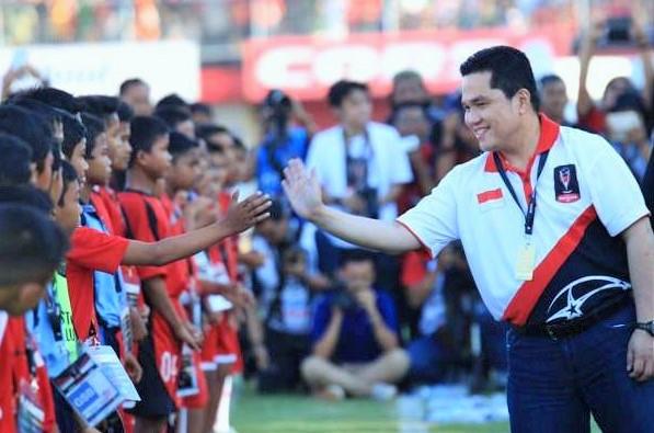 Ketua Umum KOI Erick Thohir/Foto: Goal.com