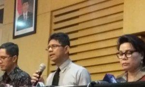 Komisi Pemberantasan Korupsi (KPK) Gelar Konferensi Pers Jum'at 27/1/2017. Foto Restu/Nusantaranews