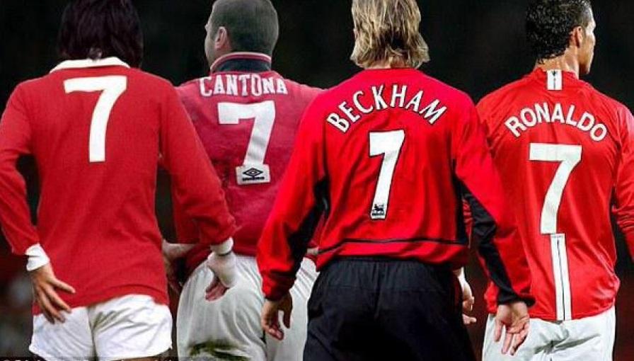 Legenda Nomor Punggung 7 Manchester United/Foto Ilustrasi/IST