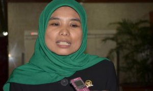 Legislator Fraksi PKB Eem Marhamah Zulfa Hiz. Foto via viva
