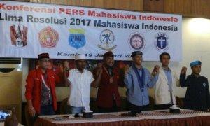 Mahasiswa Indonesia yang tergabung di dalam organisasi PMII, GMNI, GMKI, PMKRI, HIKMAHBUDHI, dan KMHDI. Foto Dok. Pribadi