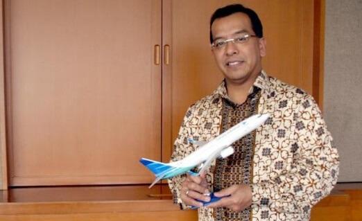 Mantan Direktur Utama (Dirut) PT Garuda Indonesia, Emirsyah Satar. Foto IST