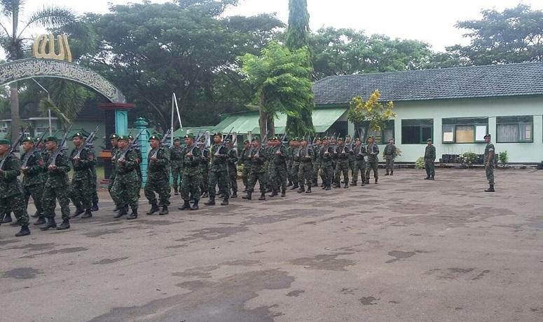 Minggu Militer Kodim 0806/Foto: dim06/prspen81
