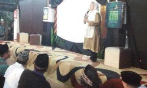 Orasi perdamaian oleh Alissa Wahid, putri pertama Gus Dur. Foto dok @santriGD