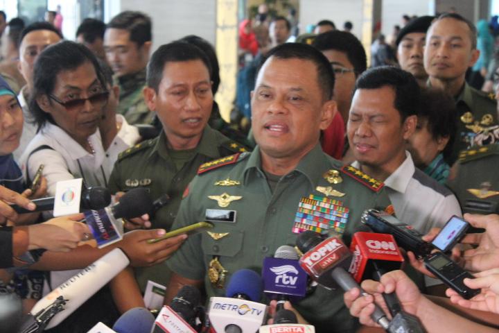 Panglima TNI Jenderal TNI Gatot Nurmantyo/Foto Andika/NUSANTARAnews