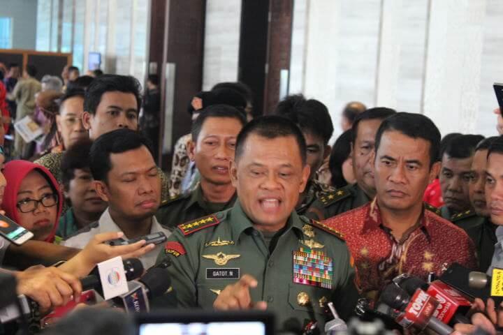 Panglima TNI Jenderal Gatot Nurmantyo/Foto Andika/NUSANTARAnews