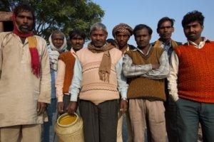 Para Pria di desa Uttar Pradesh, India. Foto Istimewa