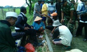 Pendampingan Pok Tani Perangi Hama Wereng. Foto Sis/Nusantaranews