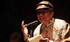 Penyair Taufiq Ismail. Foto IST