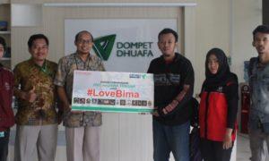Penyerahan Donasi dari rekan-rekan HVC Se Jawa Tengah kepada Dompet Dhuafa. Foto Dok. pribadi