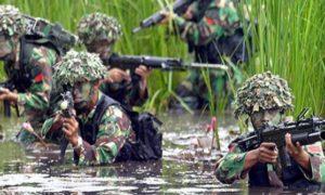 Pertempuran seru Kopassus dan pasukan elit Inggris di Kalimantan/Foto: Merdeka.com