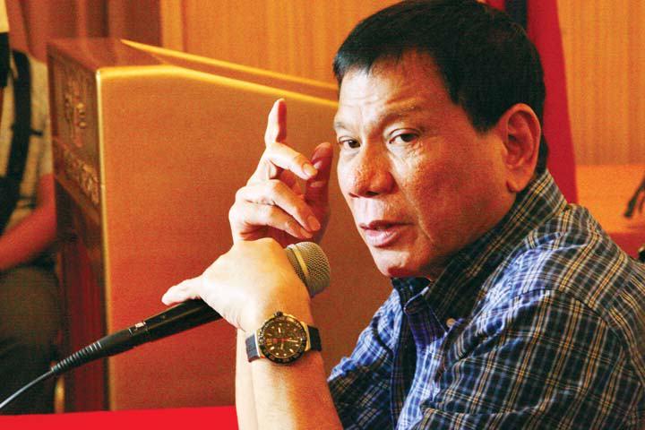 Presiden Filipina Rodrigo Duterte. Foto IST