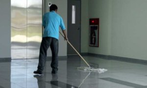 Proyek Cleaning Service DPR. Foto Ilustrasi/IST